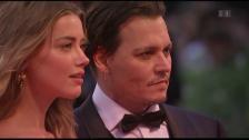 Video «Rosenkrieg: Amber Heard vs. Johnny Depp» abspielen