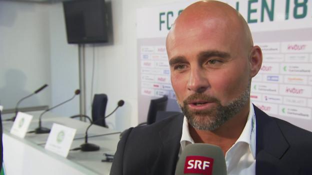 Video «Contini kehrt zum FCSG zurück» abspielen