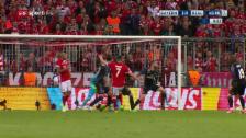 Video «Penalty oder nicht? Strittige Szene in der 45. Minute» abspielen