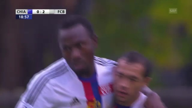 Die 2 letzten Tore von Zoua für den FCB (11.11.2012)