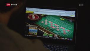 Video «FOKUS: Glücksspiele im Internet erhitzen die Gemüter» abspielen