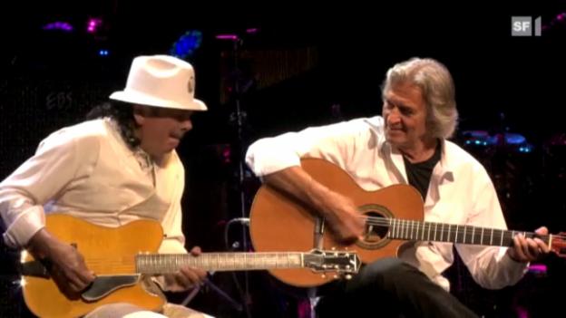 Video «Beim Montreux Jazz Festival» abspielen