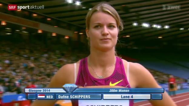 Video «LA-EM: Dafne Schippers - vom Siebenkampf zum Sprint» abspielen
