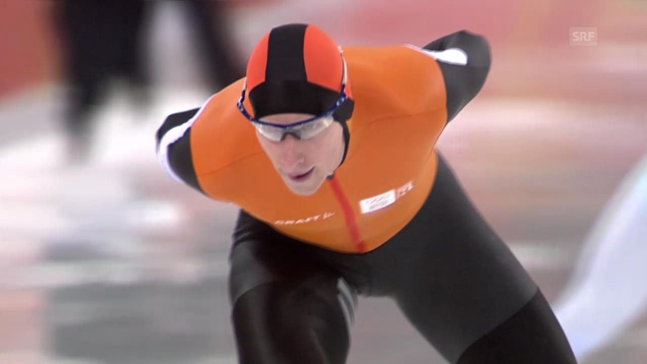 Zusammenfassung Eisschnelllauf, 5000m Männer (8.2.2014)