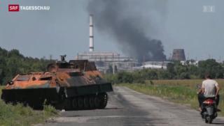 Video «Keine Kursänderung im Ukraine-Konflikt» abspielen