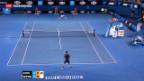 Video «Wawrinka scheitert an Djokovic» abspielen