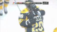 Video «NHL: Tore bei Boston - Chicago (Spiel 3)» abspielen