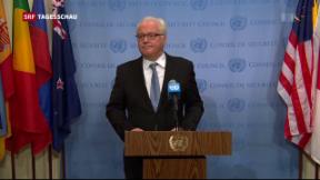Video «Eklat im Uno-Sicherheitsrat» abspielen