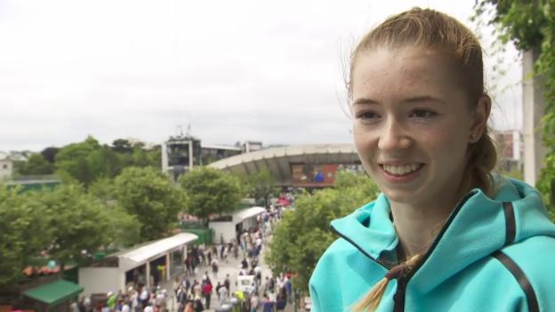 Video «Simona Waltert beschreibt sich» abspielen