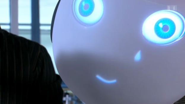 Video «Roboy – der humanoide Roboter aus Zürich-Nord» abspielen