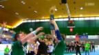 Video «Handball: Cupfinal Wacker Thun - Kadetten Schaffhausen» abspielen