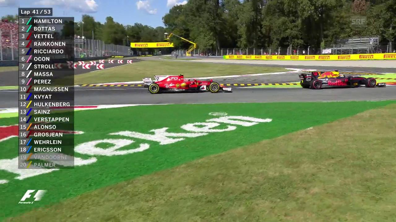 Ricciardo schnappt sich Räikkönen