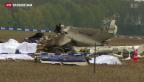 Video «Unfall-Flugzeug von Belgien mit unrühmlicher Vergangenheit» abspielen