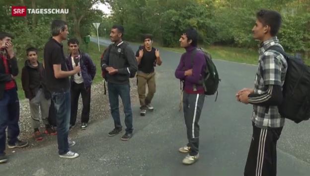 Video «Reportage aus einer Schlepper-Hochburg» abspielen