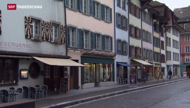 Video «Wakkerpreis geht an die Stadt Aarau» abspielen