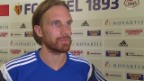 Video «Fussball: Champions League, Basel - Lech Posen, Interview Michael Lang» abspielen