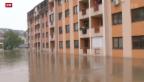 Video «Überschwemmungen sorgen für Not und Elend» abspielen