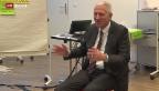 Video «Bodenständiger Bank-Chef» abspielen