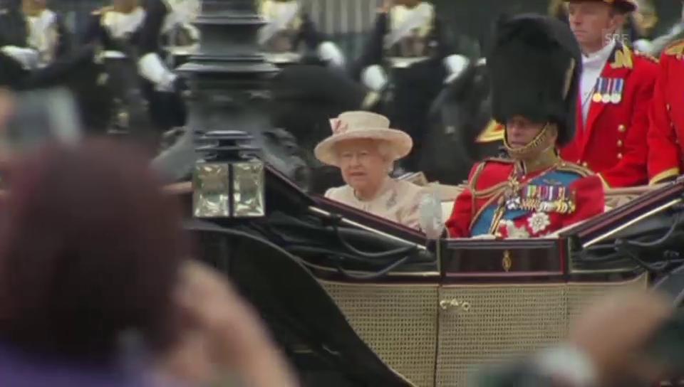 Die Geburtstagsfeier von Queen Elizabeth