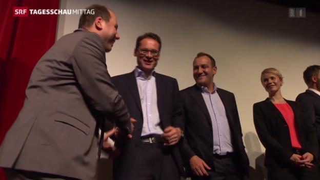 Video «Wie die SVP den historischen Triumph feierte» abspielen