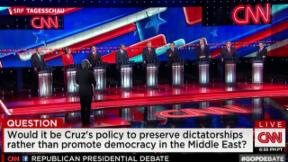 Video «TV-Debatte: Schlag den Trump » abspielen