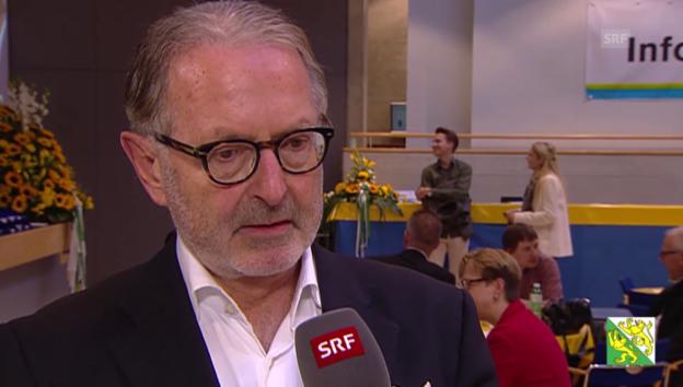 Video «Hermann Hess: «Wir brauchen zwei SVP Mitglieder im Bundesrat.»» abspielen