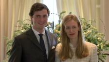 Video «Prinz Amadeo von Belgiens Verlobung (unkommentiertes Video)» abspielen