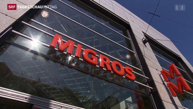 Video «Migros wächst trotz gesättigtem Markt» abspielen