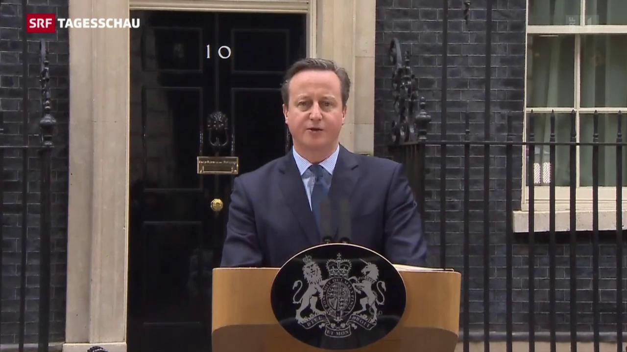 Cameron wirbt für Verbleib in der EU