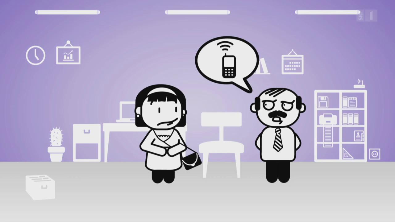 «Darf man das»: Müssen Arbeitnehmer immer erreichbar sein?