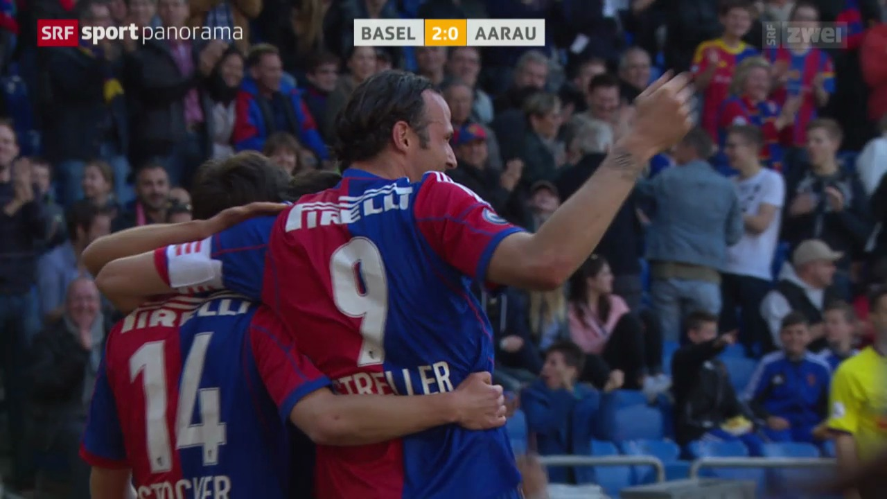 Fussball: Super League, Basel - Aarau