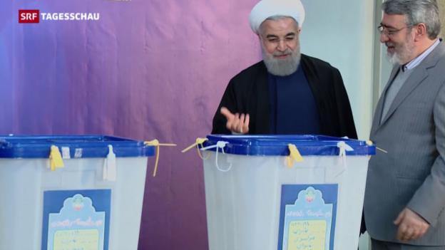 Video «Wahlsieg der Reformer im Iran» abspielen