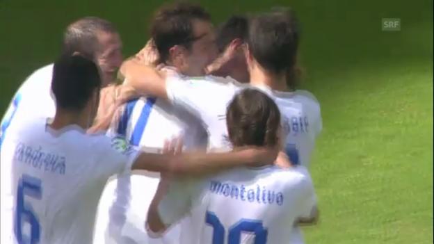 Video «Italien - Uruguay: Tore und Penaltyschiessen» abspielen