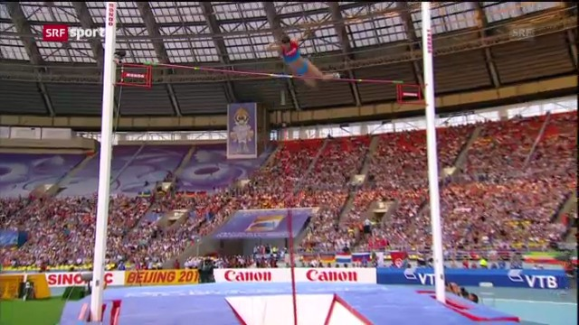 LA-WM: Isinbajewa ist die Königin der Lüfte («sportaktuell»)