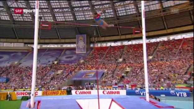 Video «LA-WM: Isinbajewa ist die Königin der Lüfte («sportaktuell»)» abspielen