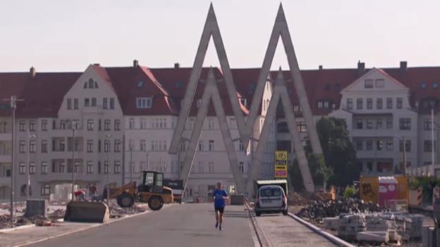Video «Ostdeutschland zwischen Depression und Aufschwung» abspielen