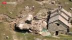 Video «Felssturz auf Alp fordert Todesopfer» abspielen