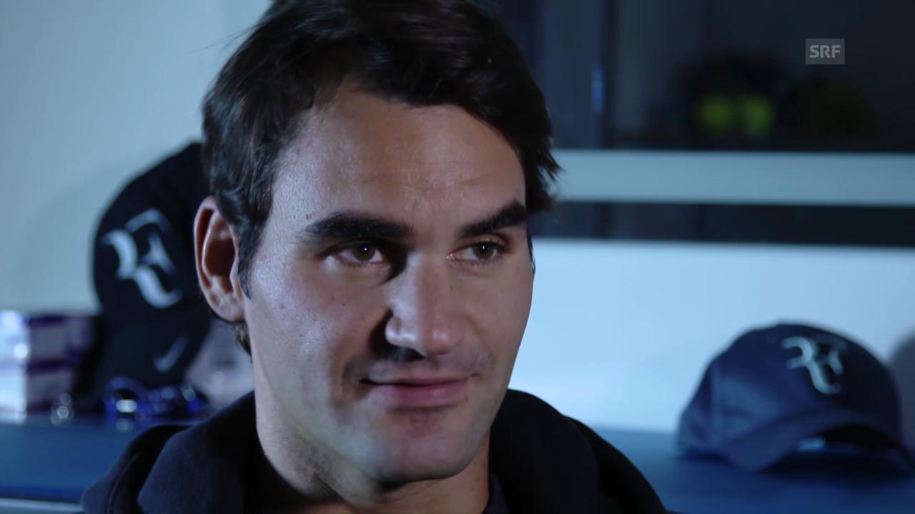Roger Federer im Interview (englisch)