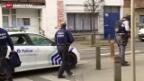 Video «Polizei jagt in Brüssel Bewaffnete nach Anti-Terror-Razzia» abspielen