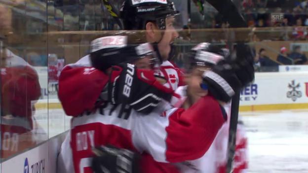 Video «Eishockey: Final Spengler Cup 2015» abspielen