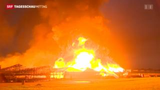 Video «Grossbrand im Kanton St. Gallen» abspielen