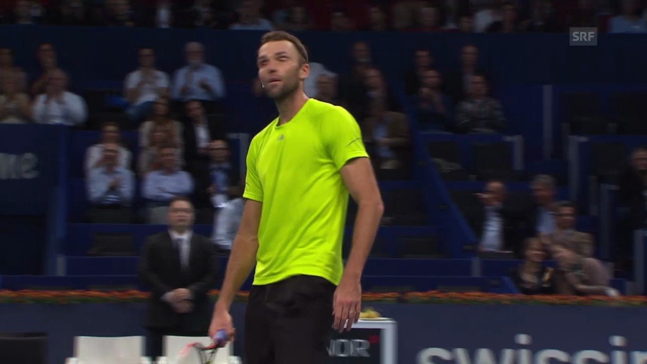 Tennis: Swiss Indoors, Karlovic-Becker