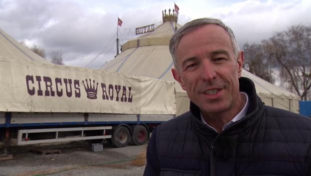 Video ««G&G Spezial»: Dani Fohrler zu Besuch beim Circus Royal» abspielen