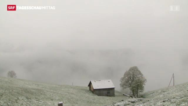 Schneefallgrenze sinkt auf 700 Meter