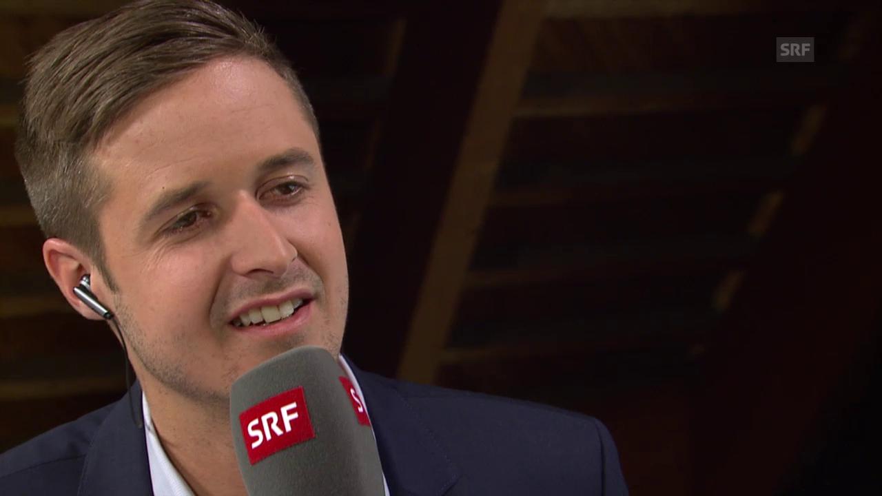 Spengler Cup: Gesprächsgast Tom Lüthi über unerlaubten Körperkontakt