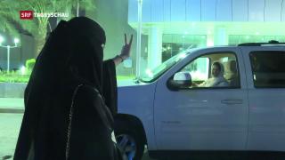 Video «Fahrverbot für Frauen aufgehoben» abspielen