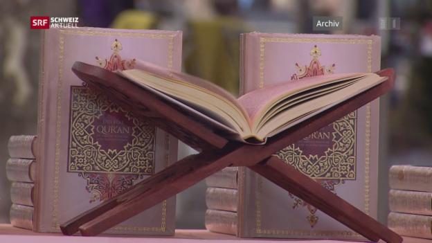 Video «Stadt Zürich bewilligt Koran-Verteilaktion» abspielen