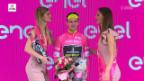 Video «Yates bleibt Giro-Leader» abspielen