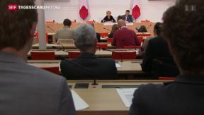 Video «Bundesrat treibt Steueramtshilfe voran» abspielen