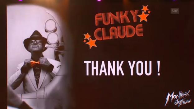 Video «Musiker feiern verstorbenen Claude Nobs» abspielen